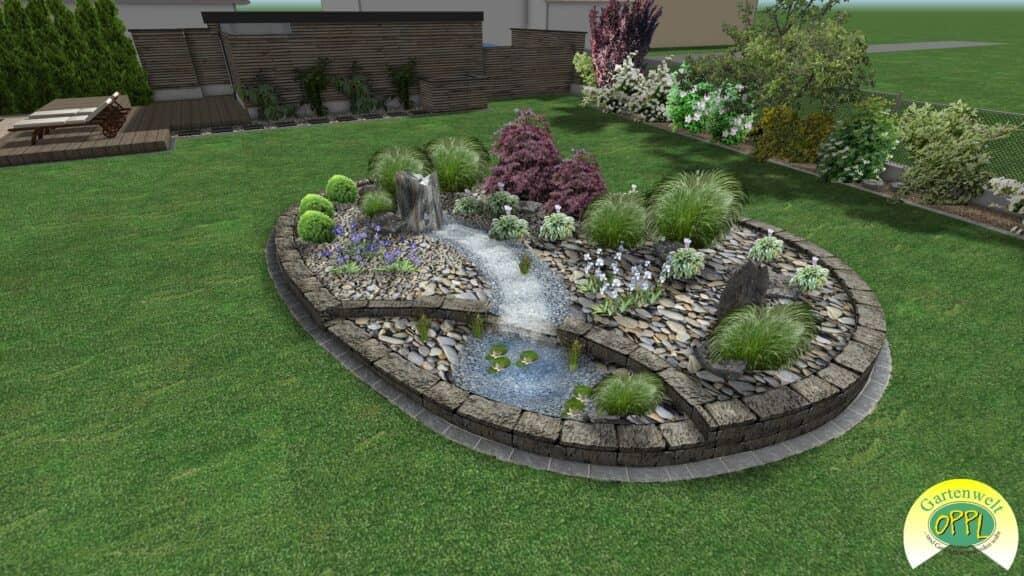 Gartenplan Tirol