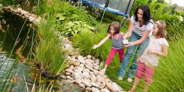 Teich- und Schwimmbadtechnik in der Gartenwelt Oppl - Gartengestaltung Tirol